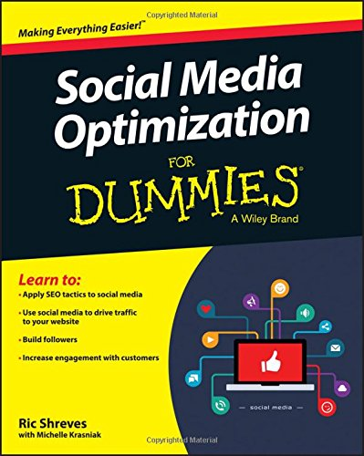 Social Media Optimization For Dummies Reference and Training Book