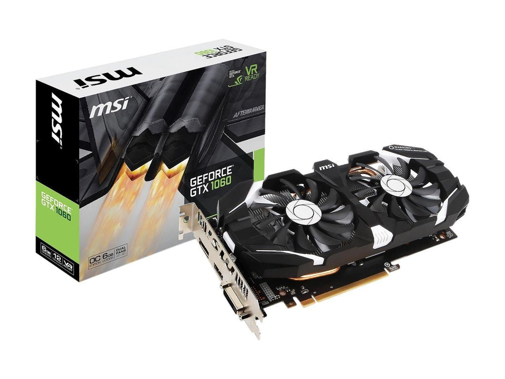 MSI Computer Video Graphic Cards GeForce GTX 1060 6GT