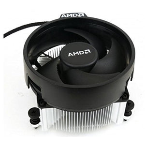 AMD Wraith Spire Socket AM4 4-Pin Connector CPU Cooler With Copper Core Base  Aluminum Heatsink  381-Inch Fan