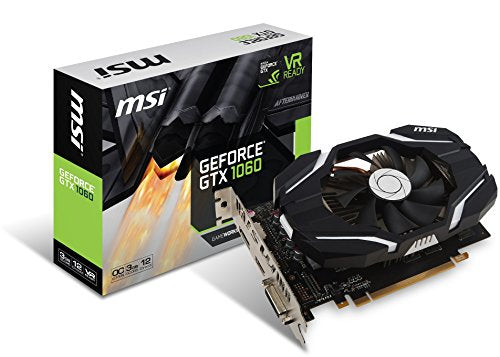 MSI GAMING GeForce GTX 1060 3GB GDDR5 (GeForce GTX 1060 3G OCV1)