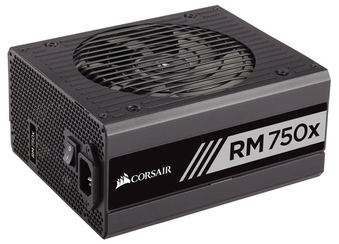 Image of CORSAIR 750W RMx RM750X ATX12V / EPS12V 80 PLUS GOLD Certified Full Modular Power Supply Model CP-9020092-NA