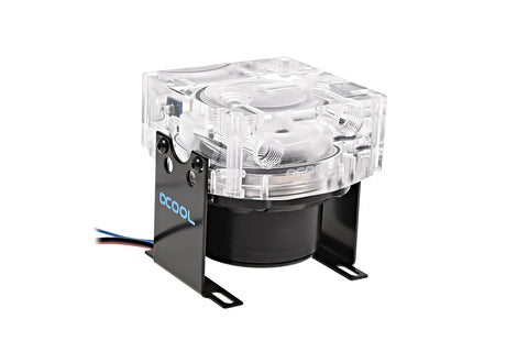 Alphacool VPP655 Pump with Eisdecke Pump Top V.3, Plexi (Acrylic)