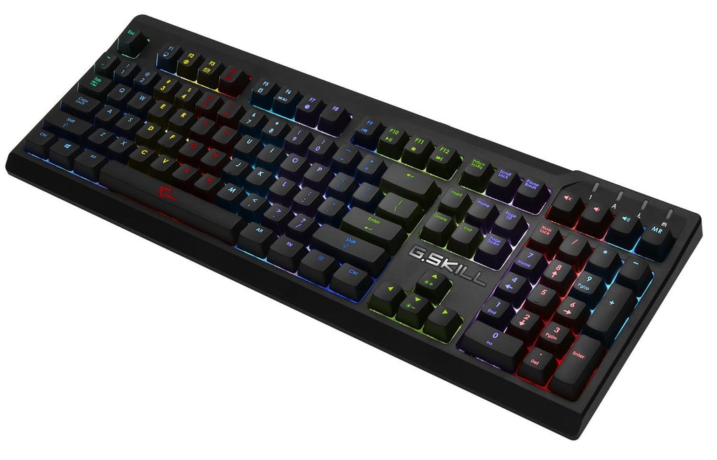 G.Skill RIPJAWS KM570 RGB Mechanical Gaming Keyboard, Cherry MX Brown