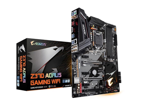 Image of GIGABYTE Z370 AORUS GAMING WIFI (rev. 1.0) LGA 1151 (300 Series) Intel Z370 HDMI SATA 6Gb/s USB3.1 ATX Intel Motherboard
