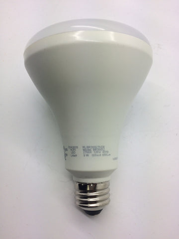 Image of 6-Pack White LED Lamp BR30012 - 9 Watts, 2700K, 120V, 107mA