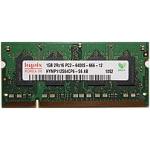 1GB DDR2 PC2-6400 800MHz SODIMM 200pin Hynix HYMP112S64CP6-S6