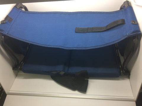 Image of Rio Adventure Stadium Arm Chair, Navy, AS IS