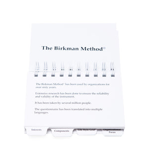 Birkman Pocket Guide
