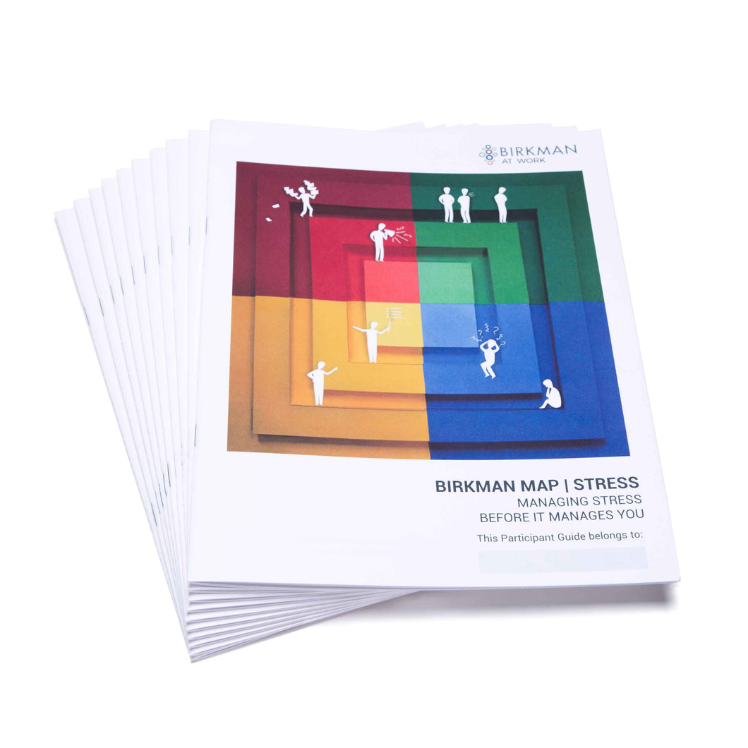 Birkman Map: Stress Behaviors | 10 Participant Refill Sets