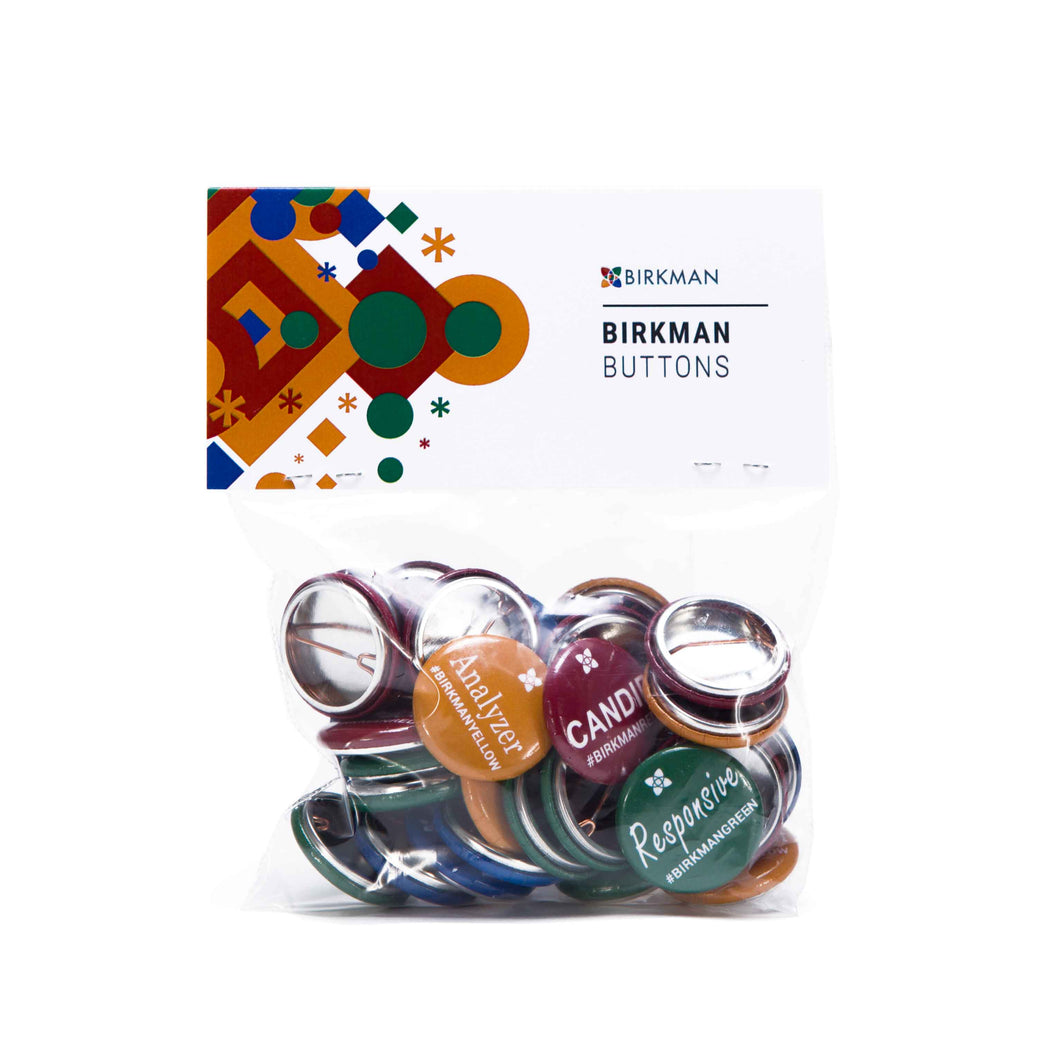 Birkman Buttons Set -