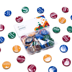 "Birkman Buttons Set - ""Flair Pack"""