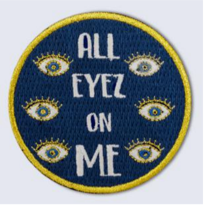 Patch à Fer - ALL EYES ON ME