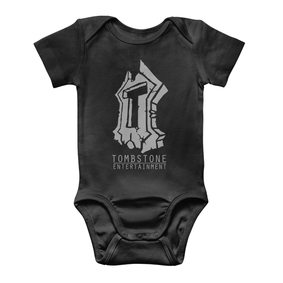 Tombstone Entertainment Range Classic Baby Onesie Bodysuit