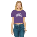 Vixen Execution Classic Women's Cropped Raw Edge T-Shirt