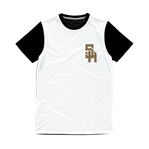 Stonehurst Gold Range Classic Sublimation Panel T-Shirt