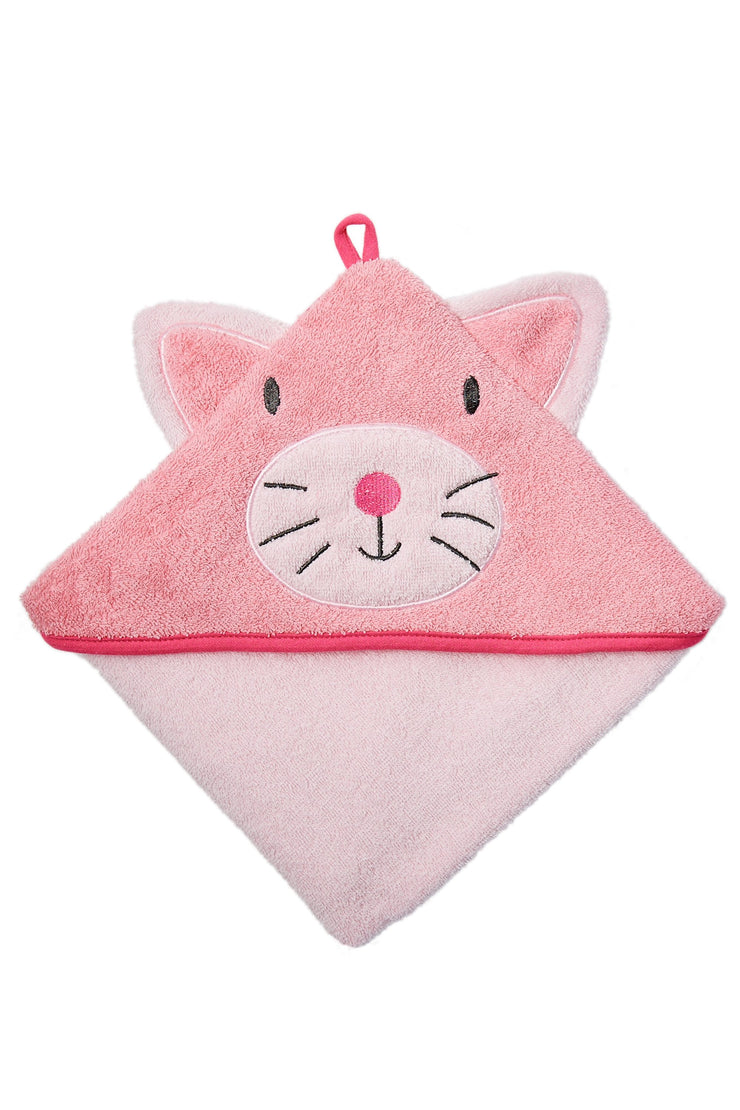 Weego Colourplay Hooded Towel - Kitten