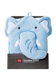 Weego Colourplay Hooded Towel - Elephant