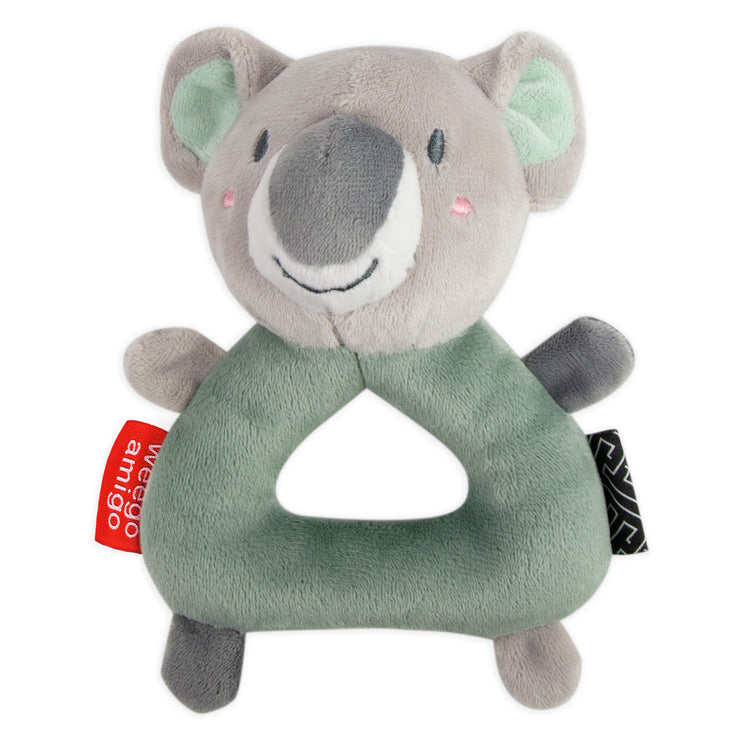Weego Colourplay Plush Rattle - Koala