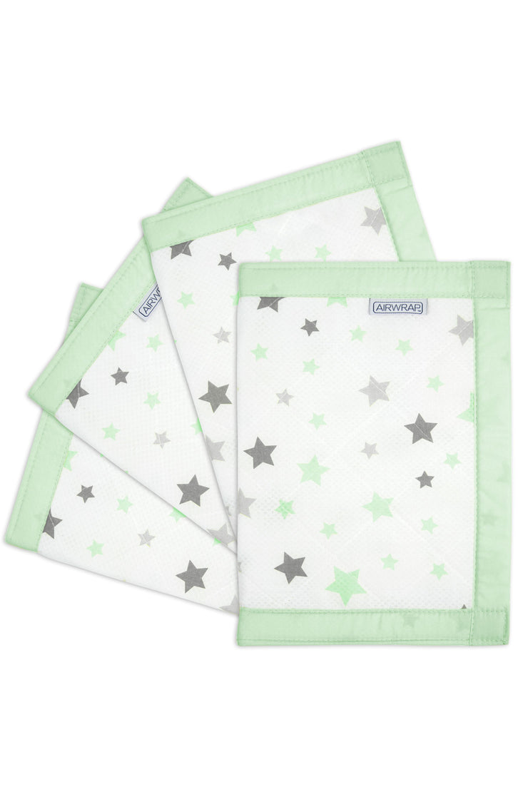 Airwrap Muslin 4 Sides - Star Mint