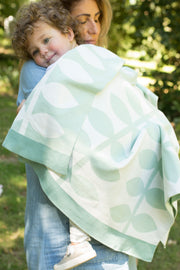 Journee Cotton Knit Blanket - Vines