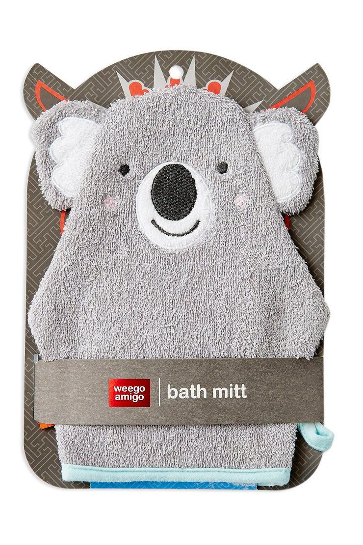 Weego Colourplay Bath Mitt - Koala