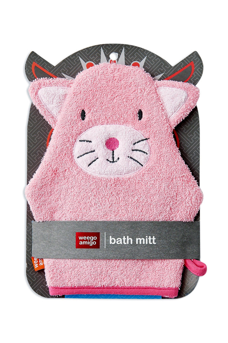 Weego Colourplay Bath Mitt - Kitten