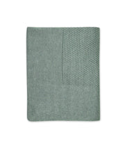 Little Bamboo Textured Knit Blanket - Whisper