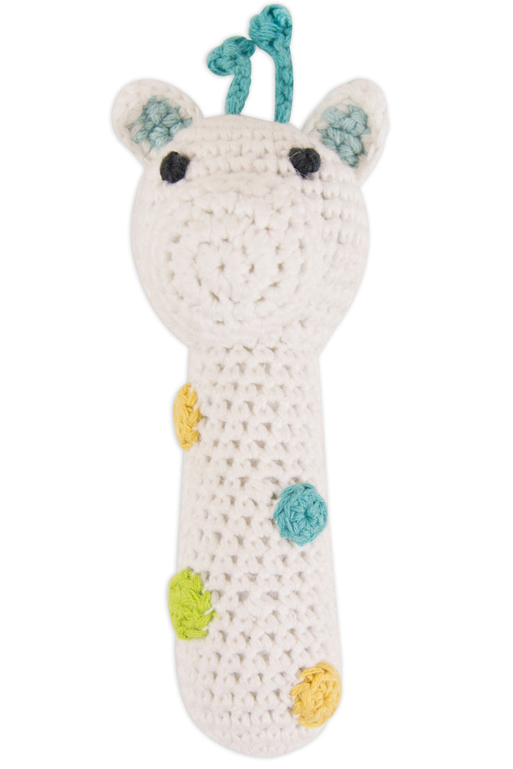 Crochet Rattle - Giraffe