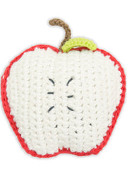 Crochet Rattle - Apple