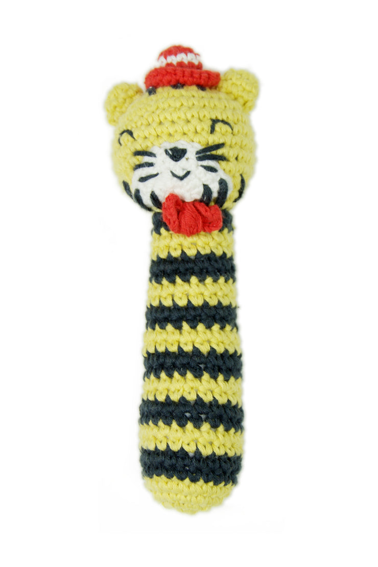 Crochet Rattle - Tricky Tiger