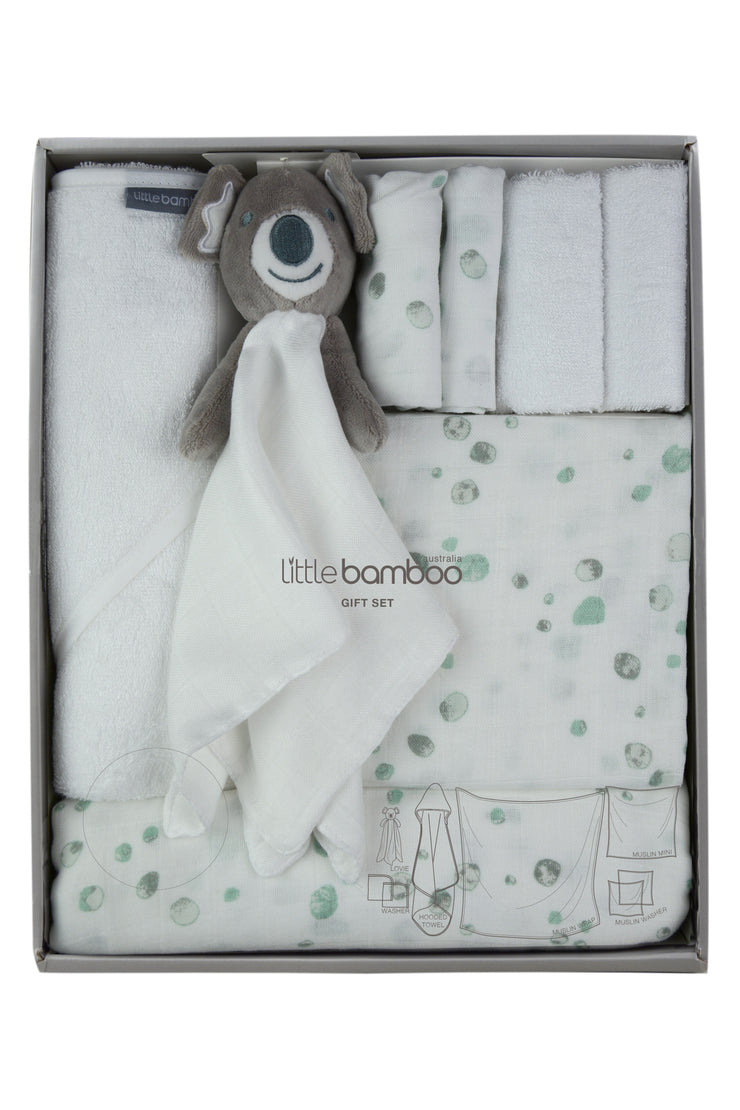 Little Bamboo Muslin + Towel Starter Pack