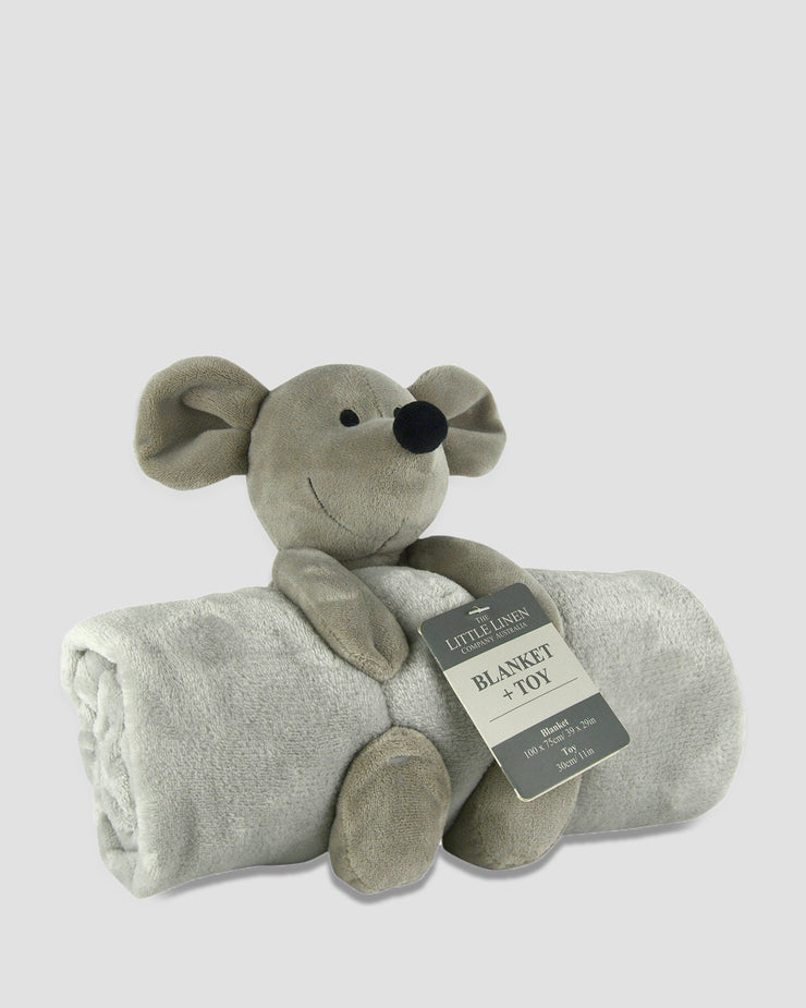 TLLC Plush Toy + Blanket - Mouse
