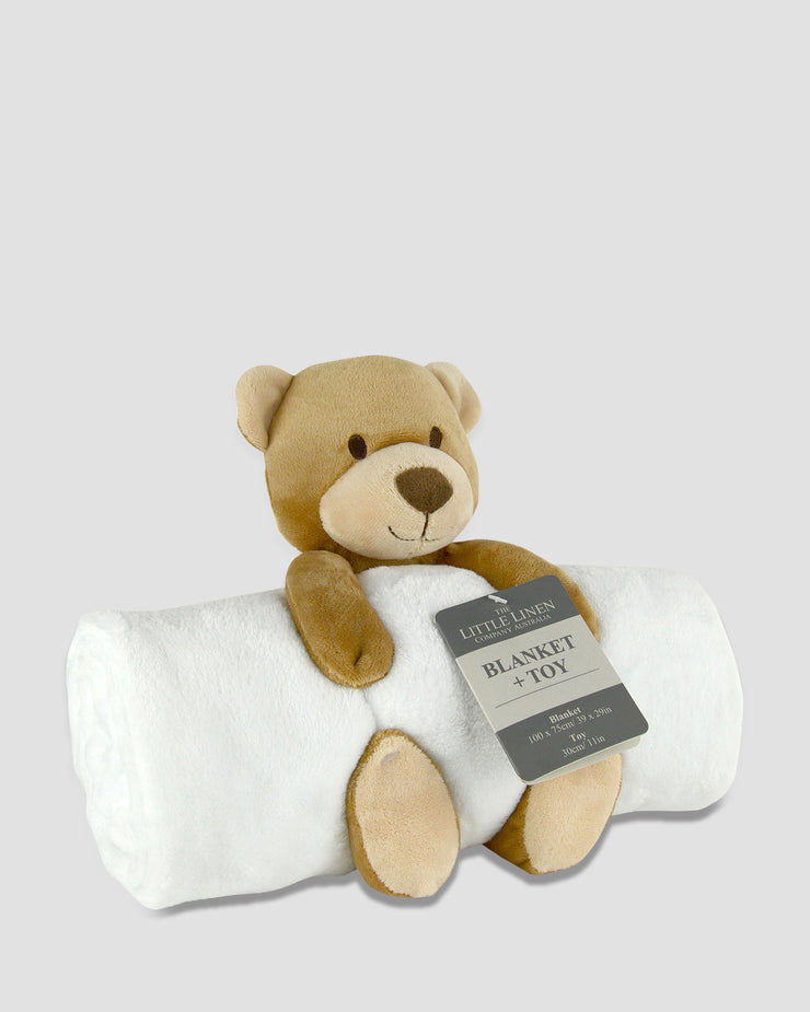 TLLC Plush Toy + Blanket - Bear