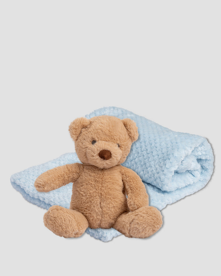 TLLC Plush Toy & Blanket - Safari Bear