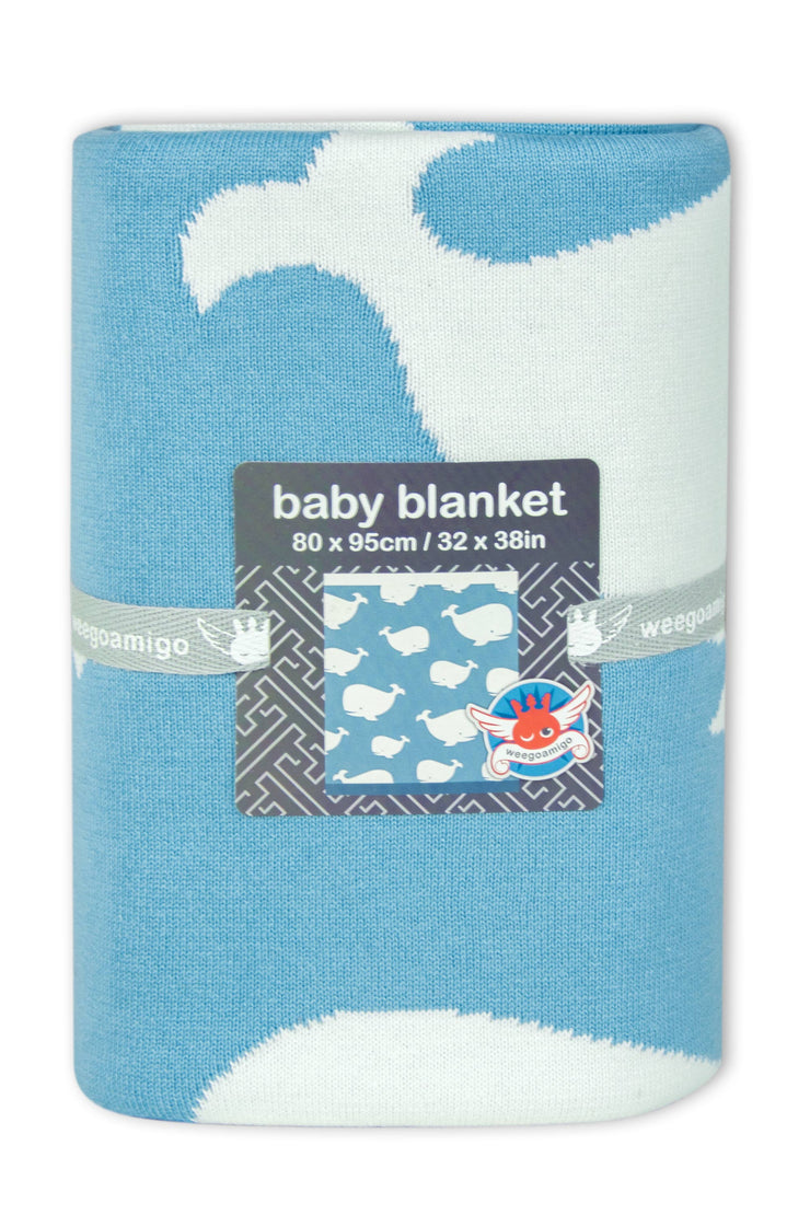 Journee Cotton Knit Blanket - Noah