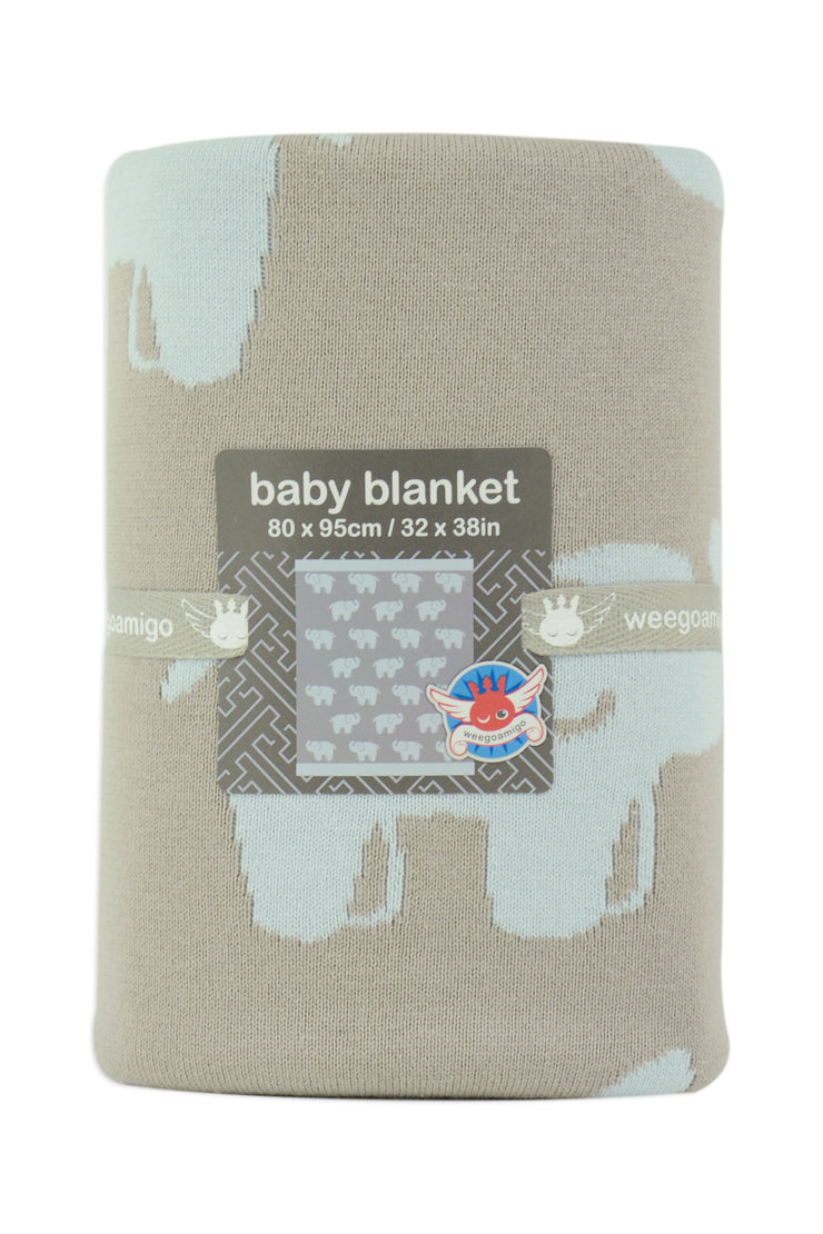 Journee Cotton Knit Blanket - Ethan
