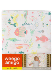 Weego Cot Fitted Sheet - Mermaid