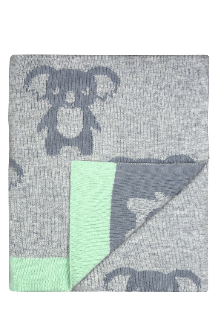 Weego Hola! Knit Blanket - Billy Koala