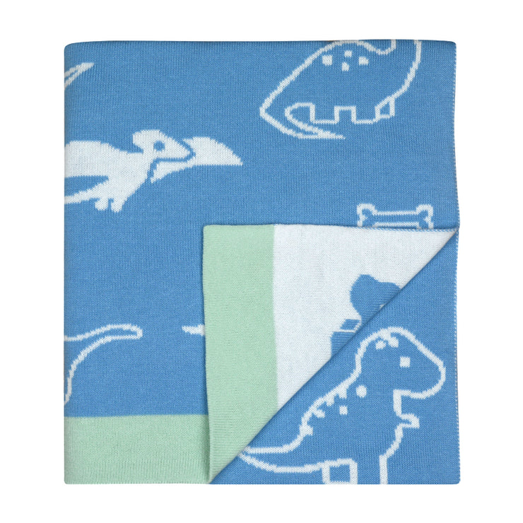 Weego Hola! Knit Blanket - Party Dinos