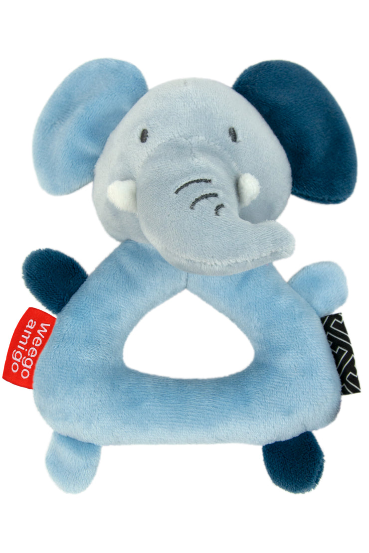 Weego Colourplay Plush Rattle - Elephant