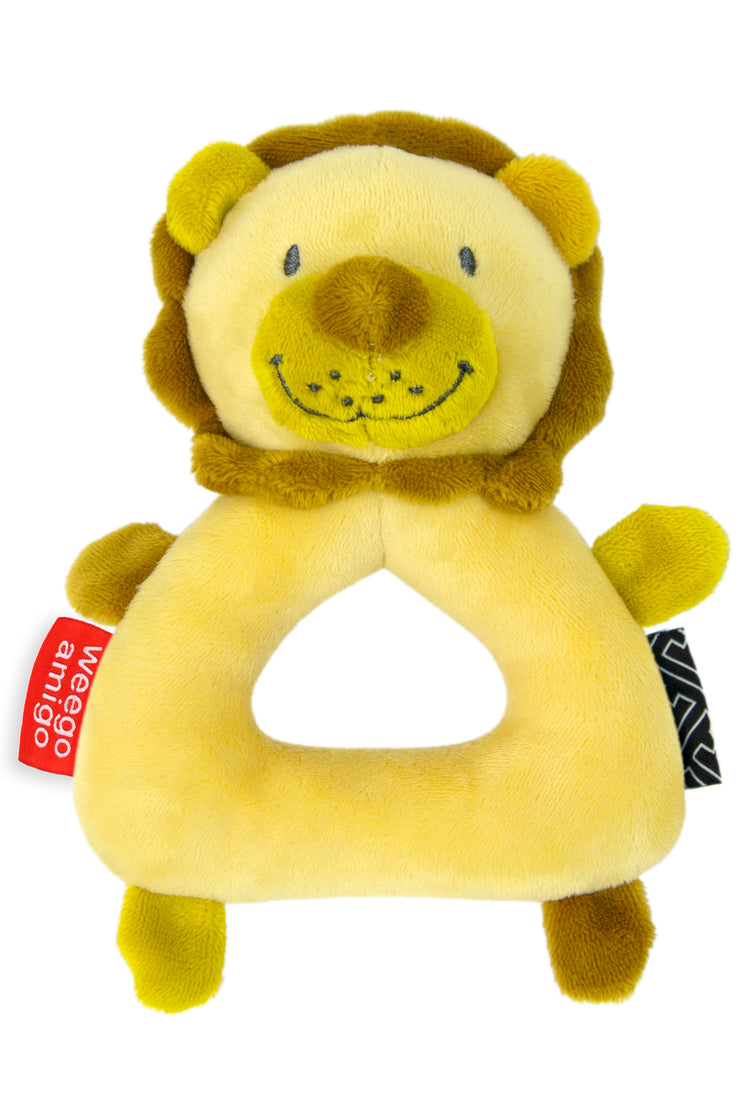 Weego Colourplay Plush Rattle - Lion