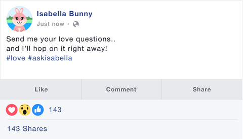 Ask Isabella Bunny The True Love Guide