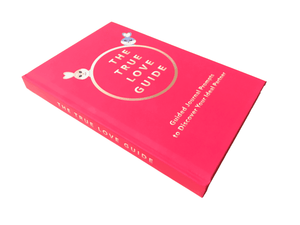 The True Love Guide is a guided journal that helps you discover your ideal partner; including 100+ journal questions, insights, infographics, & more. More romance, less heartbreak; more happy marriages, less stressful divorces.
