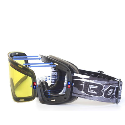 Professional Magnetic Ski Goggles