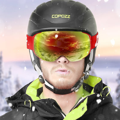 SnowSpartan Magnetic Ski Goggles