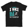 Old Man Skier T-Shirt