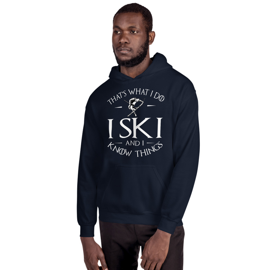 Ski And Know Things Hoodie