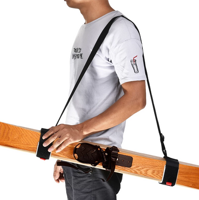 SkiBand - Easy Ski Carry Straps
