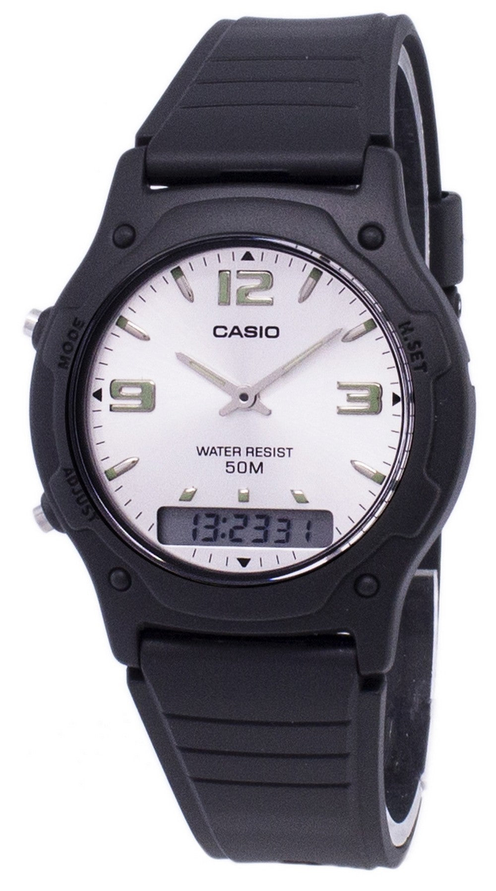 Casio Analog Digital Quartz Dual Time AW-49HE-7AVDF AW-49HE-7AV Men's Watch