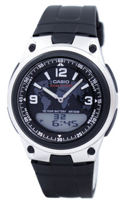 Casio Databank World Time Telememo Analog Digital AW-80-1A2V AW80-1A2V Men's Watch